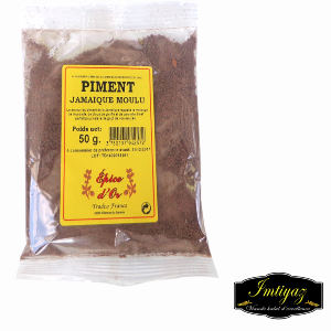 PIMENT JAMAIQUE MOULU 100G